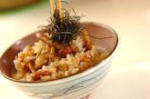 ナメコの炊き込みご飯の作り方4