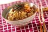 ナメコの炊き込みご飯の作り方の手順