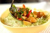 鶏むね肉のサッパリ炒め素麺の作り方4