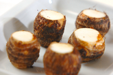 里芋のポタージュの下準備1
