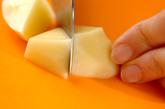 ジャガイモのスープの下準備1