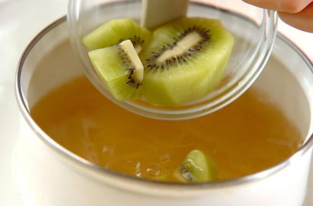 寒天のフルーツ寄せの作り方の手順4