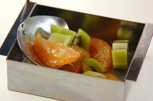 寒天のフルーツ寄せの作り方の手順5