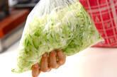 キャベツのもみサラダの作り方5
