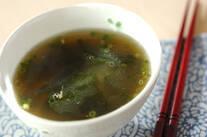 豆腐のツナ風味スープ