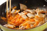 イカのピリ辛炒めの作り方8