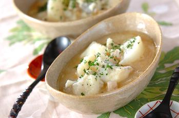 カブとタラのスープ煮