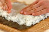 巻き寿司(恵方巻き)の作り方10