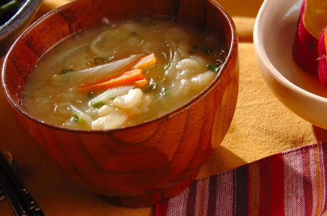 人参をお味噌汁でいただこう!アレンジ豊富な簡単おすすめレシピ10選の画像
