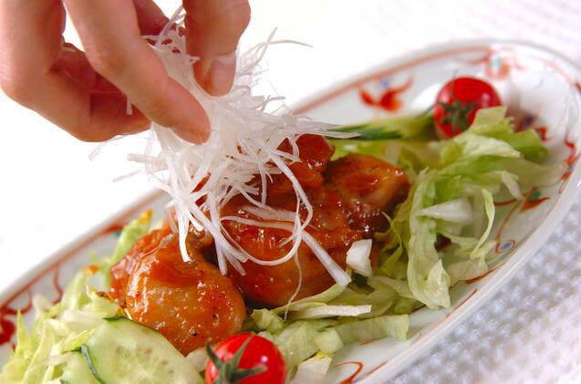 鶏肉のみそ照り焼きの作り方の手順8