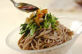 水菜とレンコンの和そばの作り方3