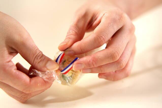 ロールサンドイッチの作り方の手順4