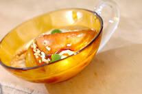 リンゴのラム酒ソテー