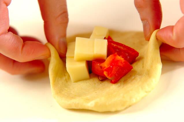 カレートマトチーズパンの作り方の手順9