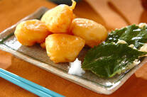 ホタテの天ぷら