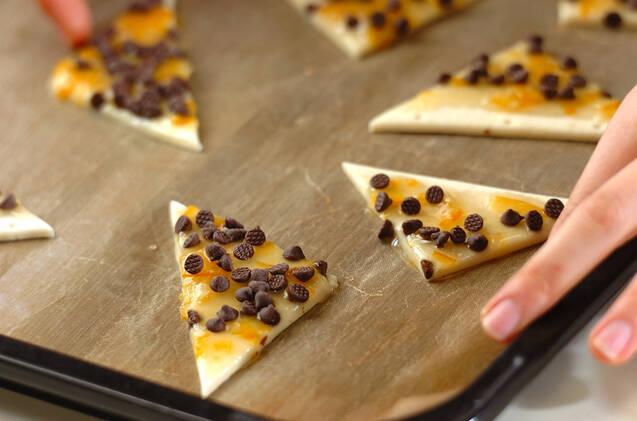 サクサクオレンジチョコパイの作り方の手順4