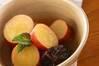 サツマイモのオレンジ煮の作り方の手順