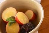 サツマイモのオレンジ煮