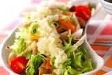 シメジのサラダ