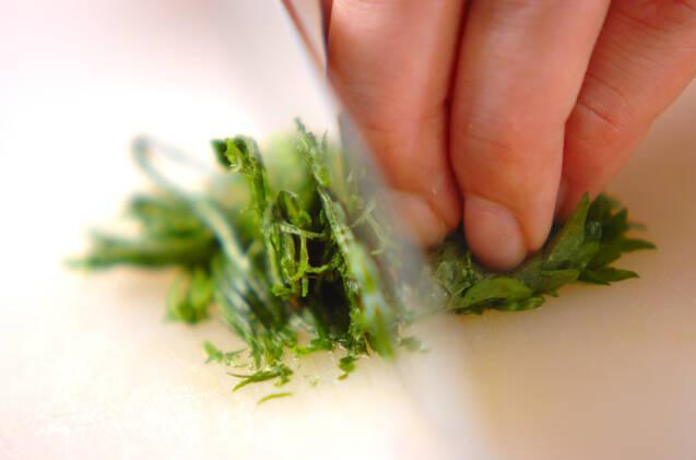 長芋の白いスープの作り方の手順3