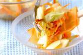 セロリとリンゴのサラダの作り方2