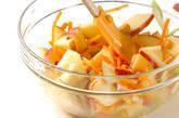 セロリとリンゴのサラダの作り方1