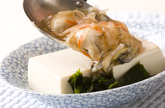 レンジ蒸し豆腐の作り方5