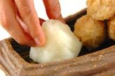 揚げ玄米団子おろしのせの作り方3