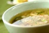 シメジのおろしスープ