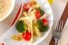 ささ身のサラダの作り方の手順