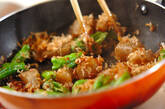 シシトウとコンニャクのおかか和えの作り方5