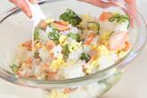 塩鮭の混ぜずしの作り方4