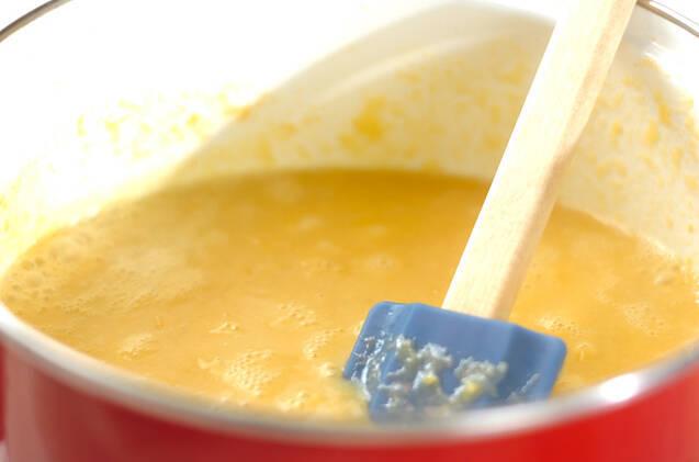 ホタテのクリーミースープの作り方の手順3