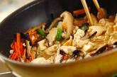 ふんわり卵の炒り豆腐の作り方1