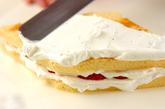 ひし形のショートケーキの作り方5