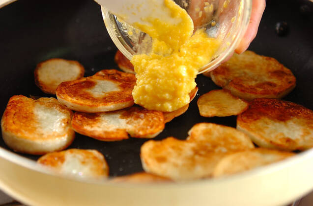 ジャガイモのレモンバター炒めの作り方の手順5