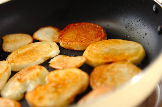 ジャガイモのレモンバター炒めの作り方の手順4