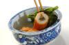菜の花とゴボウ天のサッと煮の作り方の手順5