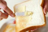 厚焼き卵サンドの作り方1