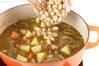 簡単ポークカレーの作り方の手順5