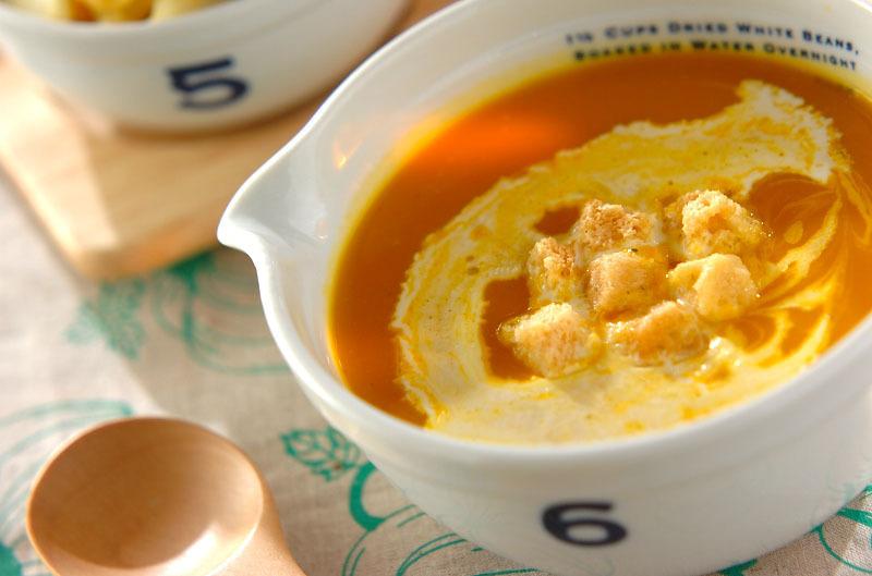 3. カボチャのスープ