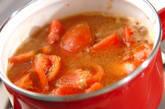 トマトとツナのサッと煮の作り方3