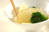 グレープフルーツのサラダの作り方1