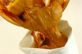 カボチャのモンブランクリームパフェの作り方3