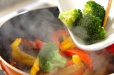 ゴボウとパプリカバルサミコ炒めの作り方2