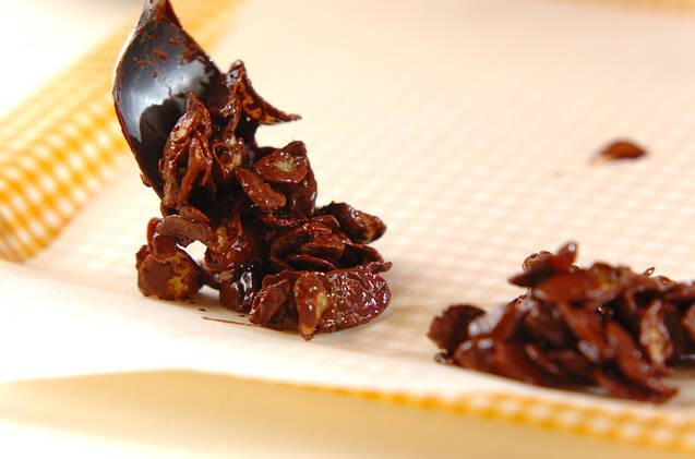 スライスアーモンドチョコの作り方の手順3