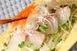 お刺身サラダ仕立ての作り方1