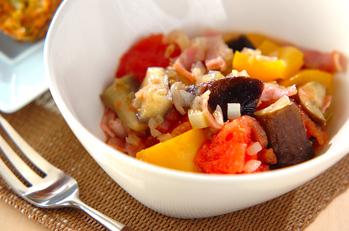 カラフル野菜の洋風煮