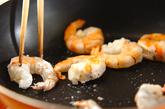 エビとジャガイモのチリ炒めの作り方1