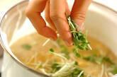 豆腐のふんわり卵汁の作り方7